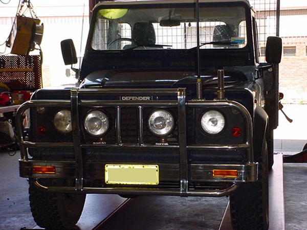Land rover Defender bullbar Perth
