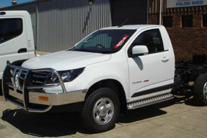 Holden Colorado Bullbars with sidestep