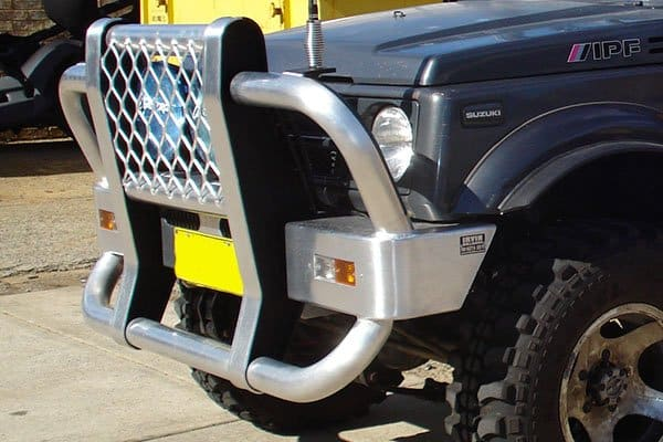 Suzuki Sierra Custom Bullbar side viewperth