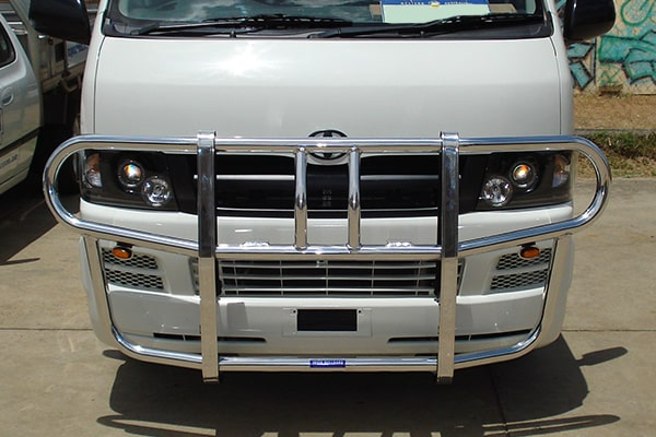 Bullbars suited to Toyota Hiace