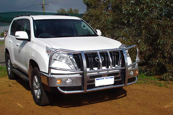 Make the Toyota Prado a Safer Vehicle for Your Family with A Bullbar